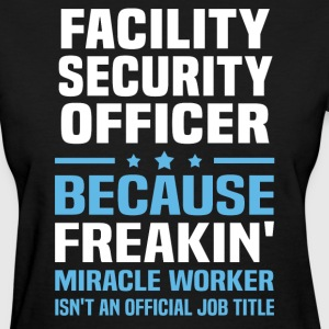 Facility Security Officer - Women's T-Shirt