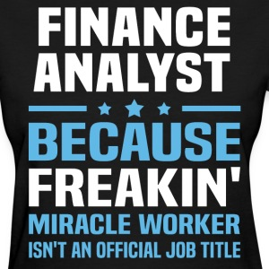 Finance Analyst - Women's T-Shirt