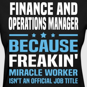 Finance and Operations Manager - Women's T-Shirt