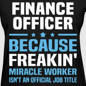 Finance Officer - Women's T-Shirt