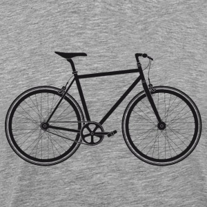 Singlespeed black - Men's Premium T-Shirt