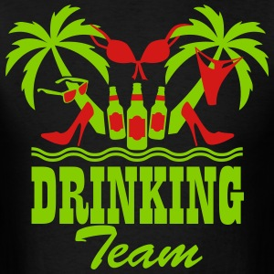 19 Drinking Team Palm beach party funny T-Shirt - Men's T-Shirt