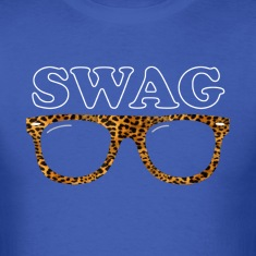swag leopard glasses T-shirts (manches courtes)