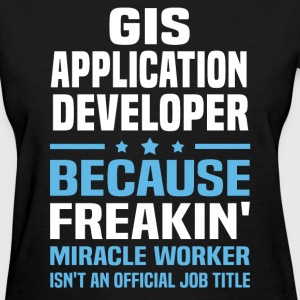 GIS Application Developer - Women's T-Shirt