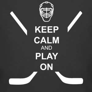 Hockey: Keep Calm & Play On - Men's 50/50 T-Shirt