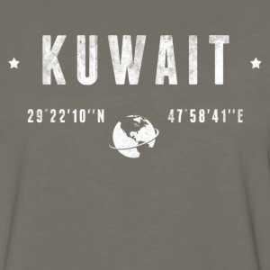 Kuwait Long Sleeve Shirts - Men's Premium Long Sleeve T-Shirt