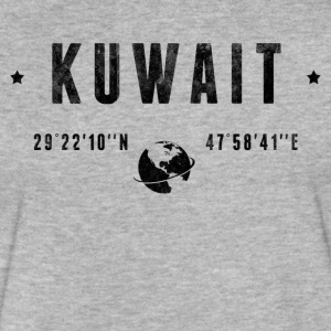 Kuwait T-Shirts - Fitted Cotton/Poly T-Shirt by Next Level