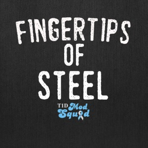 Fingertips of Steel.png Bags & backpacks - Tote Bag