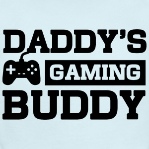 Daddy's Gaming Buddy Baby Bodysuits - Short Sleeve Baby Bodysuit