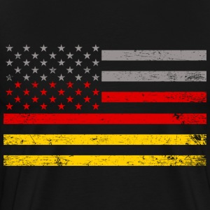 American German T-Shirts - Men's Premium T-Shirt