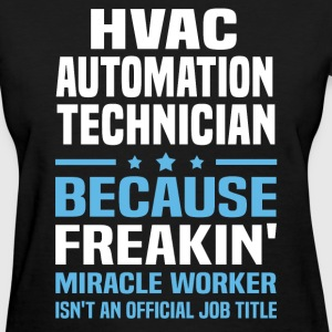 HVAC Automation Technician - Women's T-Shirt