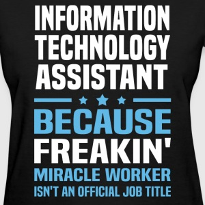 Information Technology Assistant - Women's T-Shirt