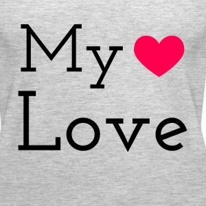 MY HEART LOVE Tanks - Women's Premium Tank Top