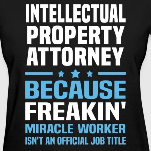 Intellectual Property Attorney T-Shirts - Women's T-Shirt