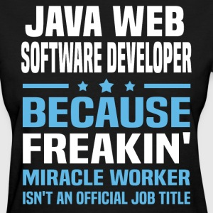 Java Web Software Developer - Women's T-Shirt
