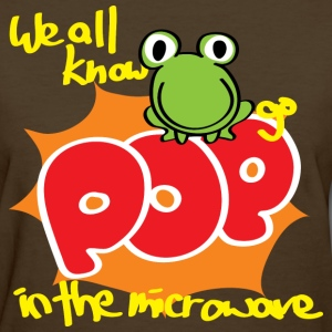 Frogs Go Pop Women's T-Shirts - Women's T-Shirt