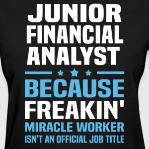 Junior Financial Analyst - Women's T-Shirt