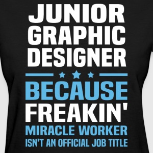 Junior Graphic Designer - Women's T-Shirt