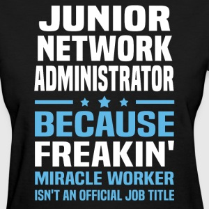 Junior Network Administrator - Women's T-Shirt