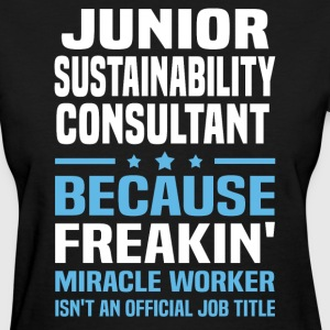 Junior Sustainability Consultant - Women's T-Shirt