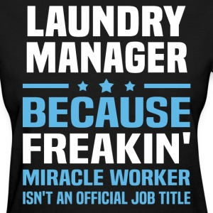 Laundry Manager - Women's T-Shirt