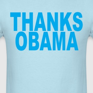 thanks_barack_obama_tshirts_ - Men's T-Shirt