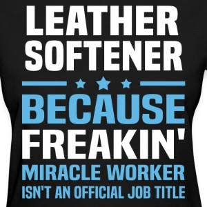 Leather Softener - Women's T-Shirt