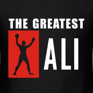 the greates ali - Men's T-Shirt
