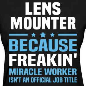 Lens Mounter - Women's T-Shirt