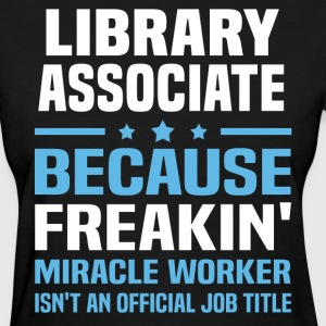 Library Associate - Women's T-Shirt