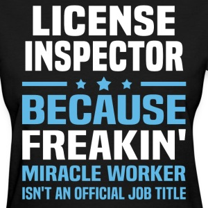 License Inspector - Women's T-Shirt