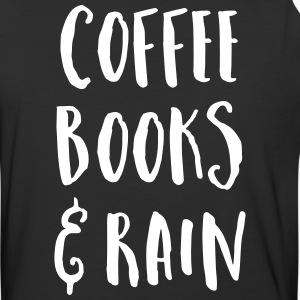 Coffee, Books & Rain Quote T-Shirts - Baseball T-Shirt