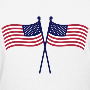 USA Flags T-Shirts - Women's T-Shirt