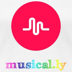 Musical.ly Rainbow T-Shirts - Women's Premium T-Shirt
