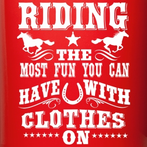 Riding -- Fun  Mugs & Drinkware - Full Color Mug