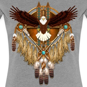 Bald Eagle Mandala - Women's Premium T-Shirt