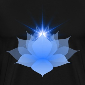 Blue Chakra Lotus - Men's Premium T-Shirt