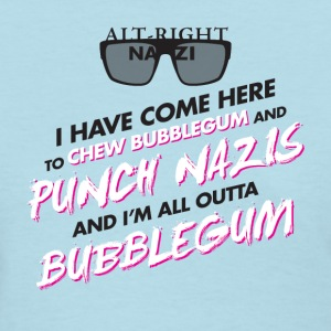 Punch Nazis Fuck Trump - Women's T-Shirt