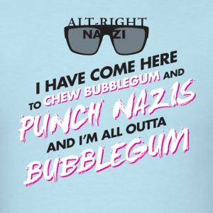 Punch Nazis Fuck Trump - Men's T-Shirt