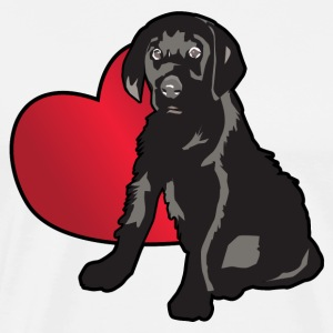 Love A Lab Puppy - Men's Premium T-Shirt