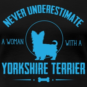 Dog Yorkshire Terrier NUW T-Shirts - Women's Premium T-Shirt