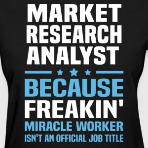 Market Research Analyst - Women's T-Shirt