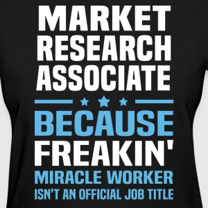 Market Research Associate - Women's T-Shirt