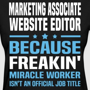 Marketing Associate Website Editor - Women's T-Shirt