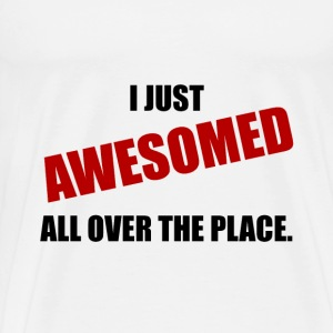 Awesomed All Over The Place - Men's Premium T-Shirt