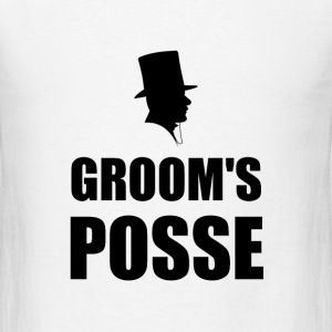 Grooms Posse - Men's T-Shirt