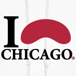 I Love Chicago Cloud Gate Hoodies - Women's Hoodie