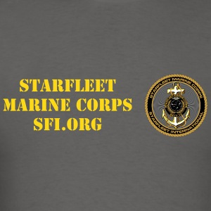 Starfleet Marines Con-minimum t-shirt for men - Men's T-Shirt