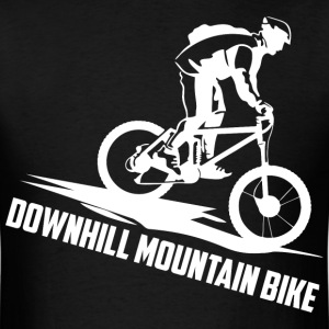 Downhill Mountain Bike - Men's T-Shirt