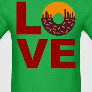 Love Food Pattern - Men's T-Shirt